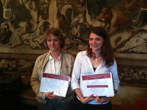 Stéphanie Charreyron et Sandra Lehon